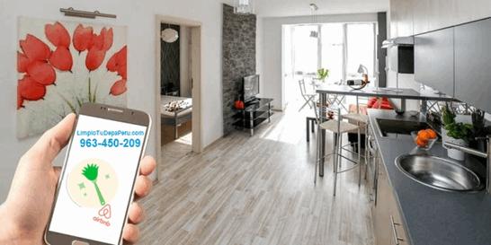 Servicio de Limpieza Airbnb - Aplicación