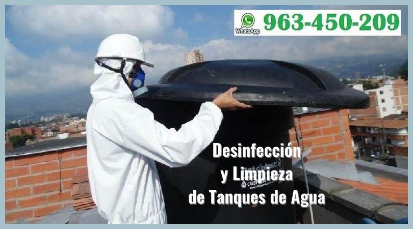 Limpieza de Tanques Elevados de Agua en Lima
