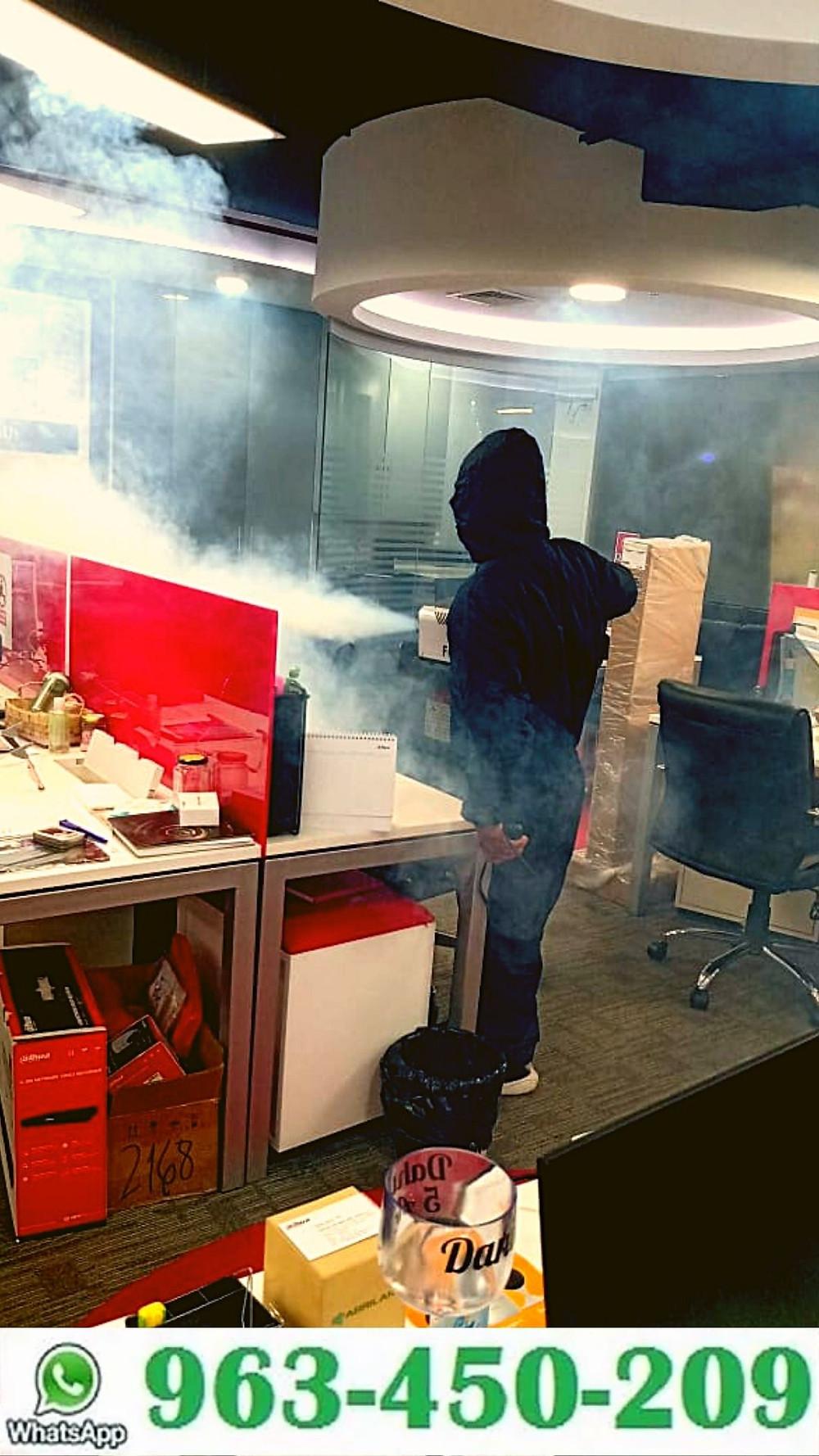 Desinfección de Oficinas Lima