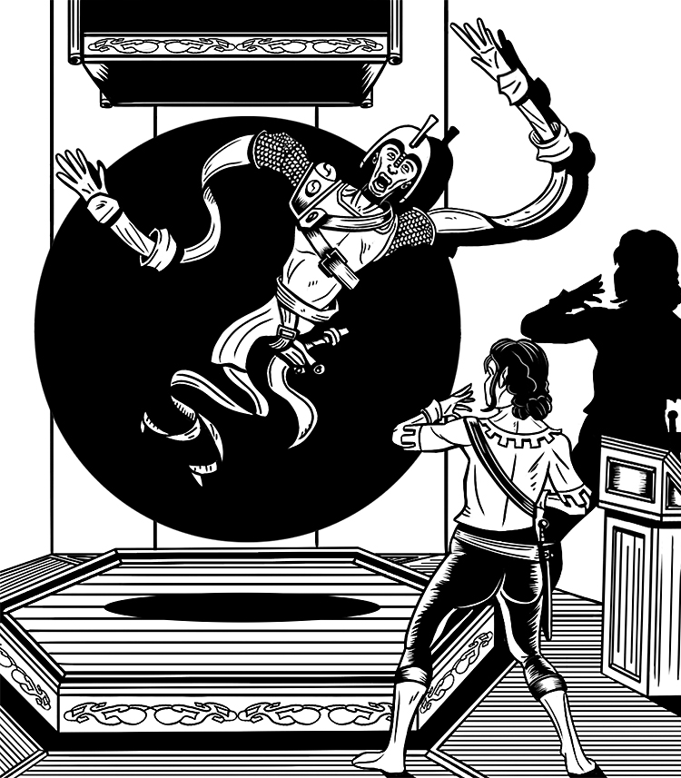 Fantasy Themed Illustration