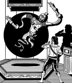 Balck Orb Peril Illustration