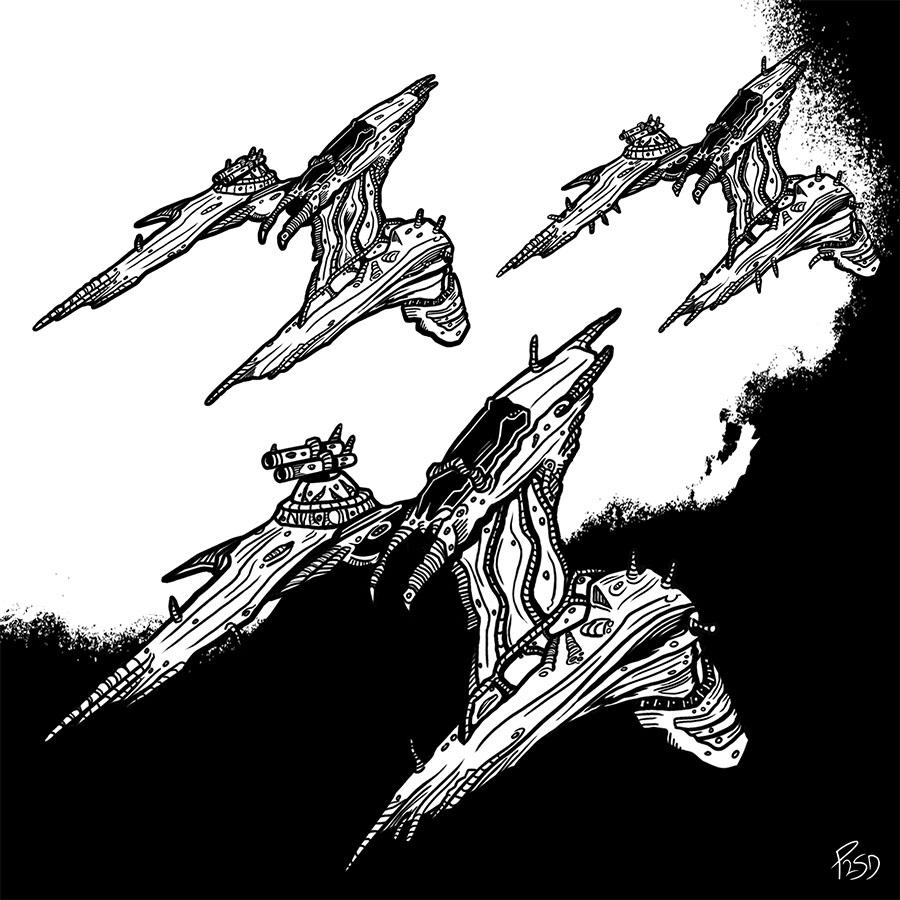 Jovian Star Fighters