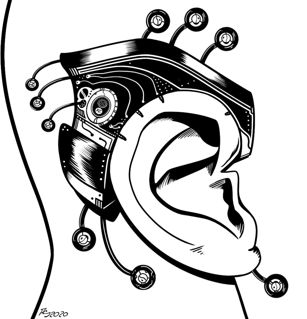 Cyberpunk Ear Piece