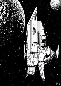 Starship on Patrol