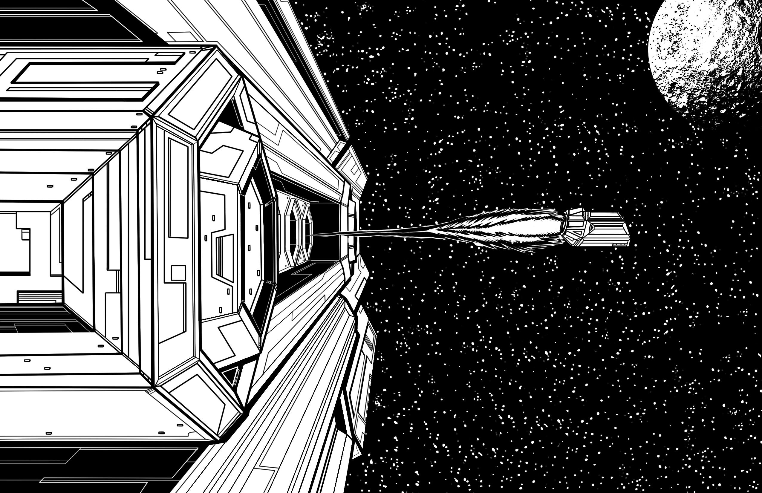 Space Pod Escape