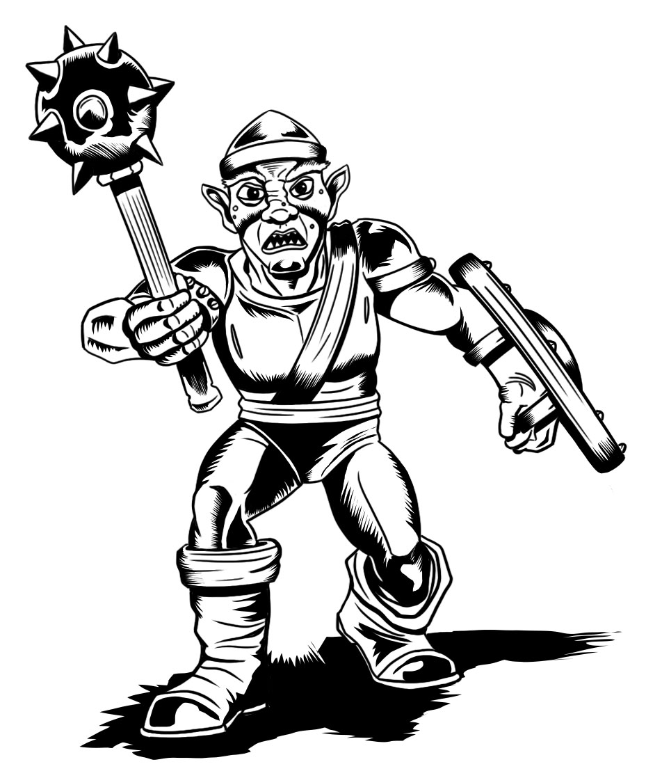 Classic D&D Goblin