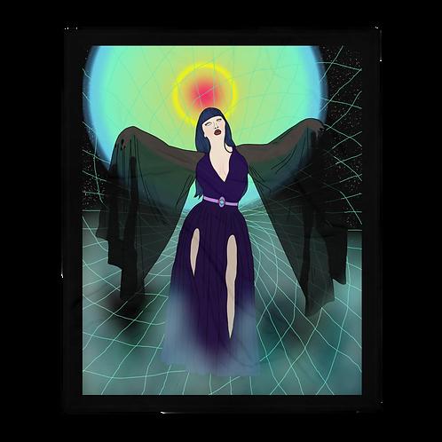 Angel of Darkness Blanket