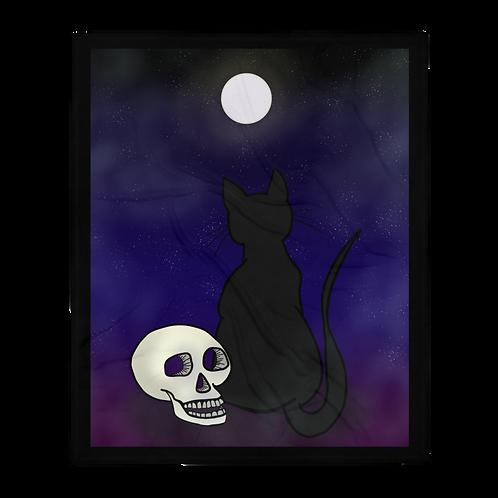Black Cat Blanket
