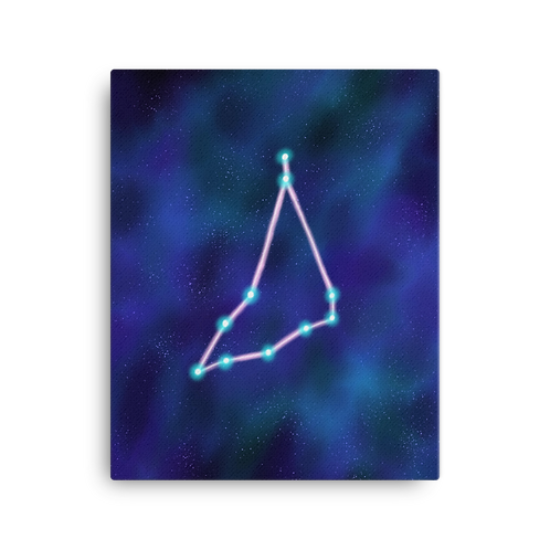 Capricorn Constellation Canvas