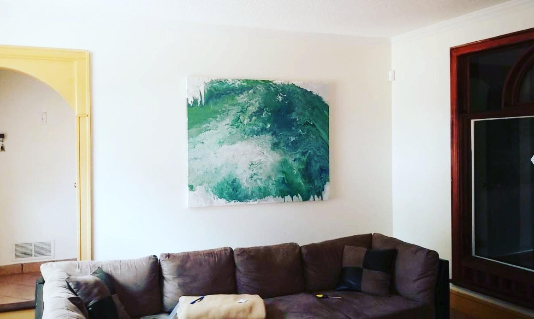 4x6 Paint Pour