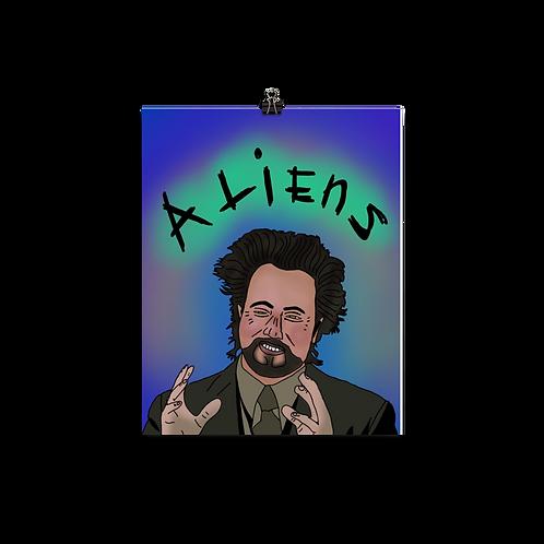 Aliens Print
