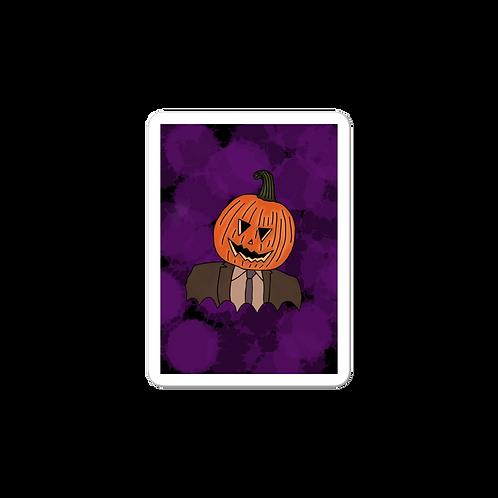 Pumpkin D Sticker