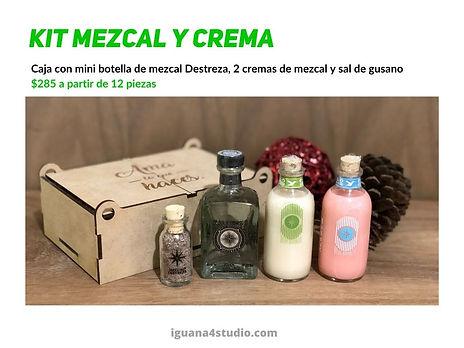 Kit Mezcal y Crema
