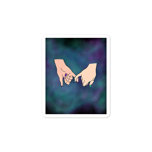 Promise Mixed Nebula Sticker