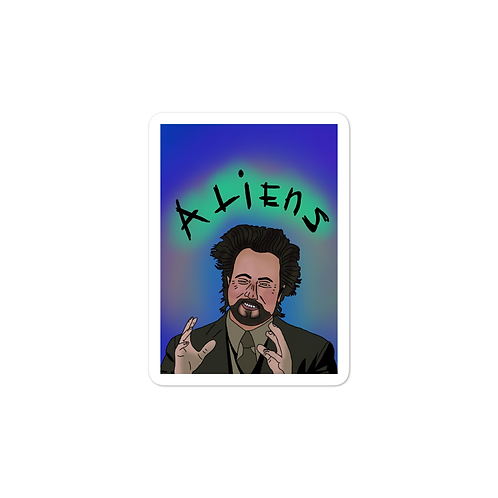 Aliens Sticker