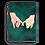 Thumbnail: Promise Teal Nebula Canvas