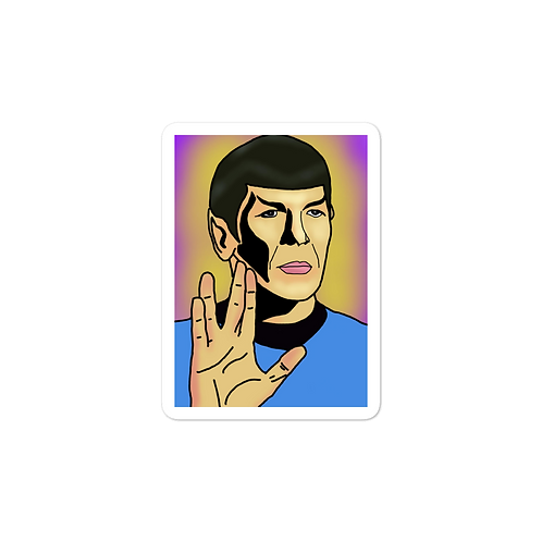 Live Long + Prosper Sticker
