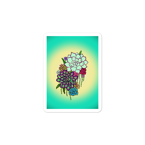 Succulents2 Sticker