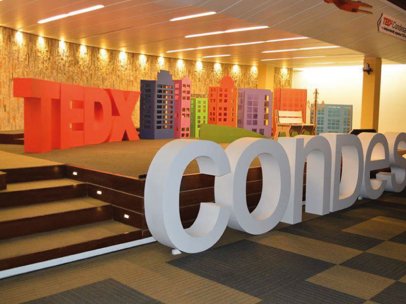 Material para evento / Escenografía para TEDx Condesa
