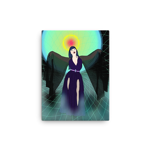 Angel of Darkness Canvas