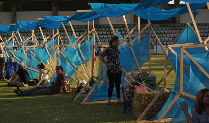 Stands ecologicos para Festival UEI