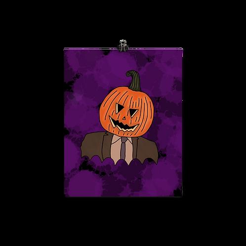 Pumpkin D Print