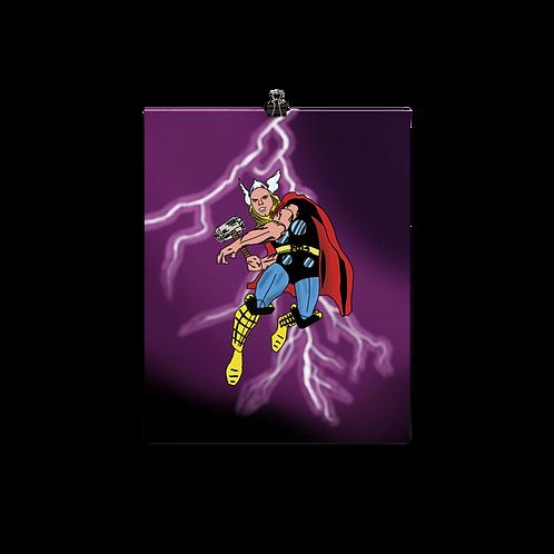 Derpy Thunder Print