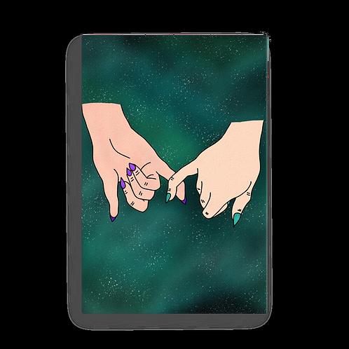 Promise Teal Nebula Canvas