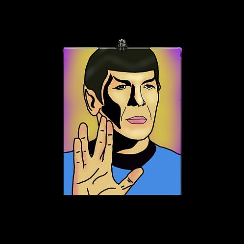 Live Long + Prosper Print