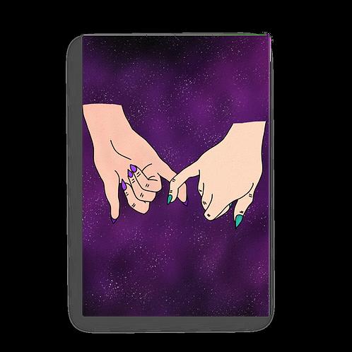 Promise Purple Nebula Canvas