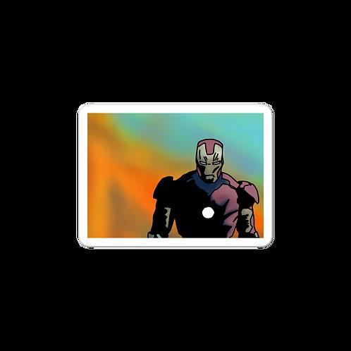 Iron Fire Sticker