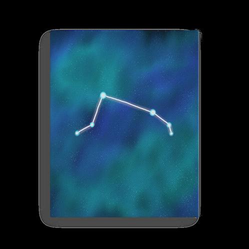 Aries Constellation Canvas