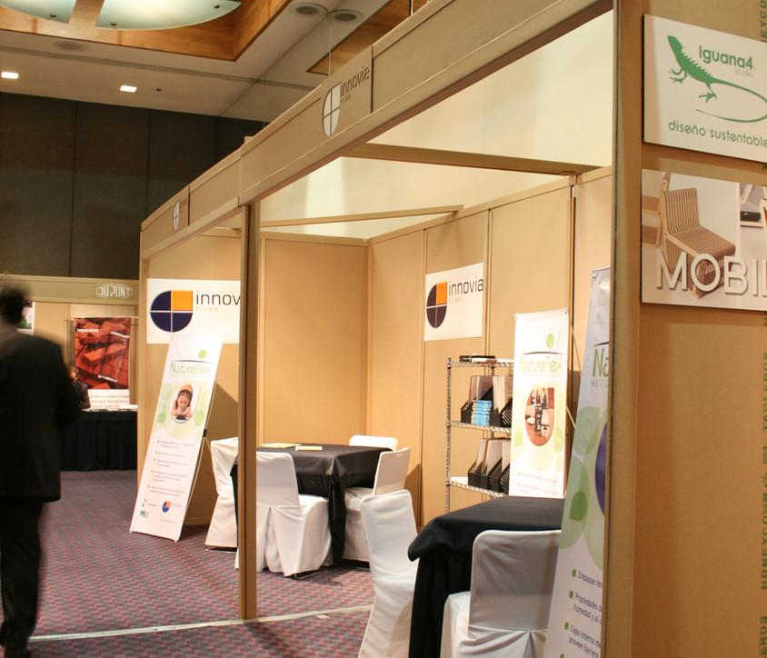 Stand ecológico para Expo empaque