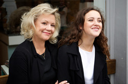 Kay and Phoebe Saatchi