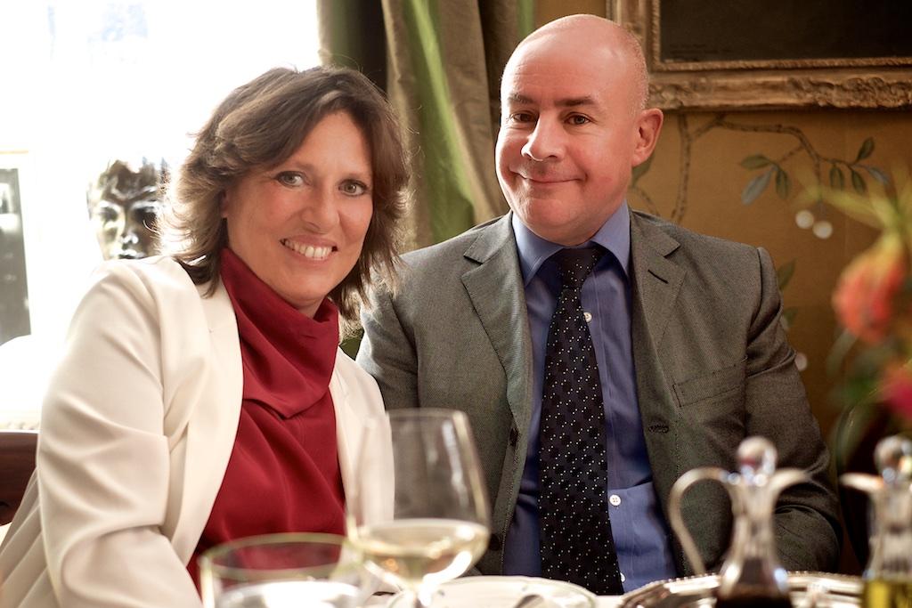 Sara Carrello & Johan Eliasch