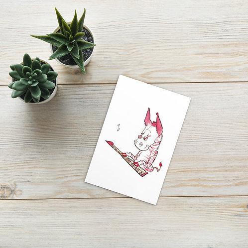 Stripianist Postcard