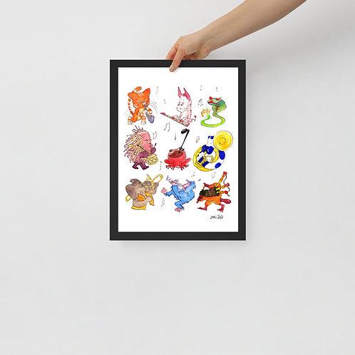 Jungle Boogie Print