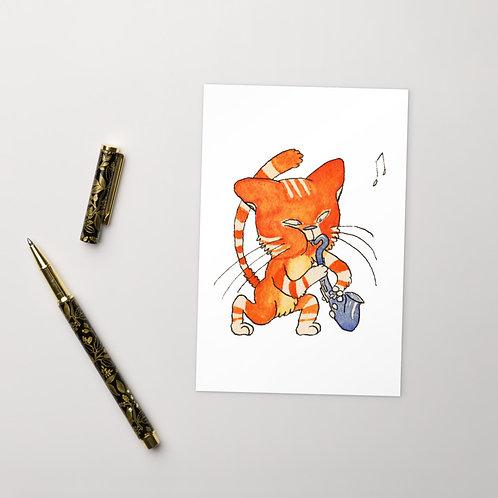 Catsophone Postcard