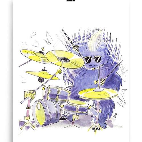 Porchupine Drummer