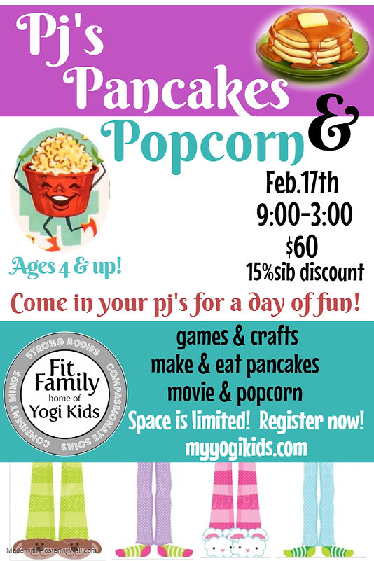 Pjs  Pancakes Camp Feb 2020 - Made with