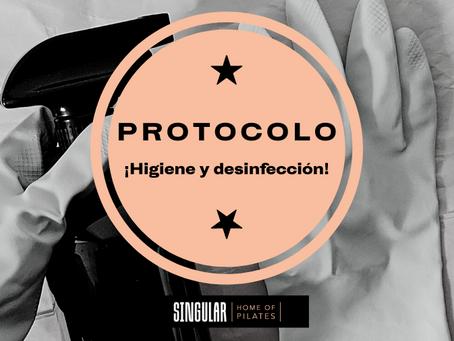 Protocolo higiene y desinfección COVID-19