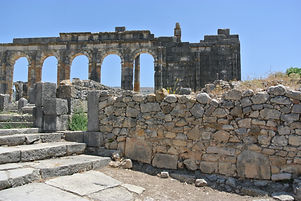 Archaeological sites conservation