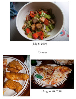 Dinner; Meal Comparison