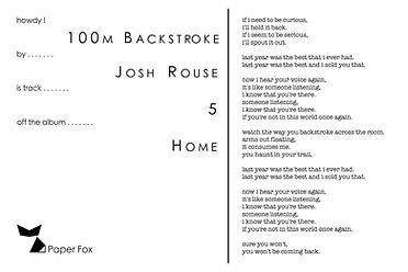 4x6 - Josh Rouse - 100m Backstroke(text)