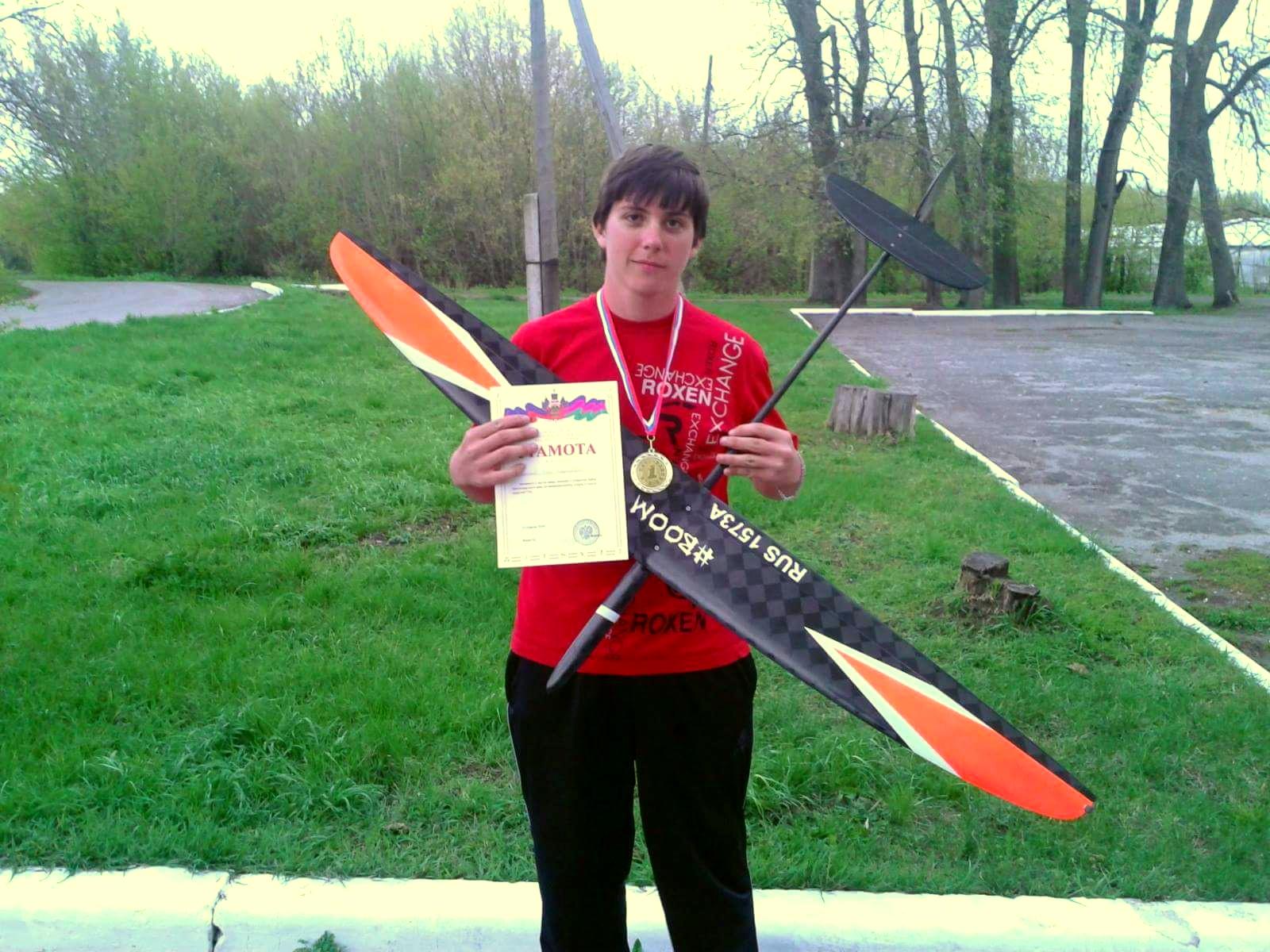 1th place Igor Filimonov