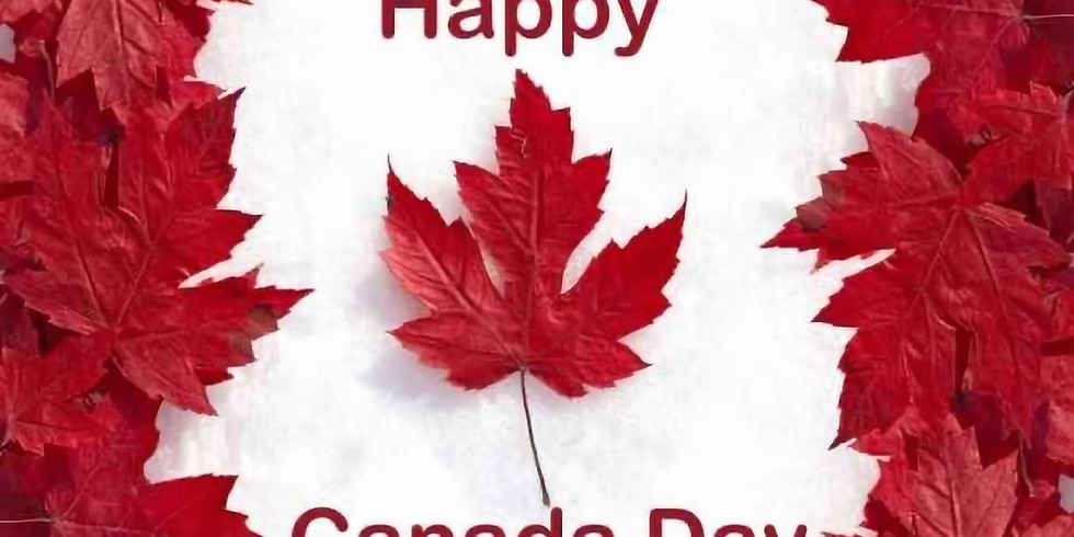 Canada Day BBQ 12-3