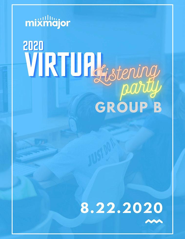 2020 Listening Party Program - Group B.j