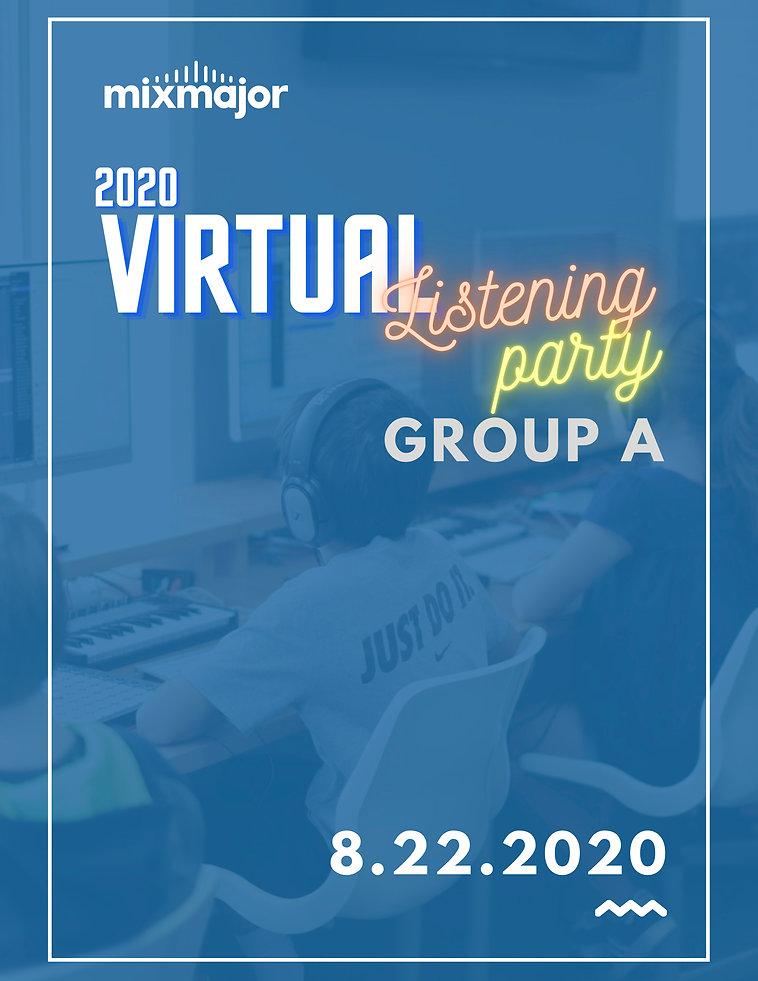 2020 Listening Party Program - Group A.j