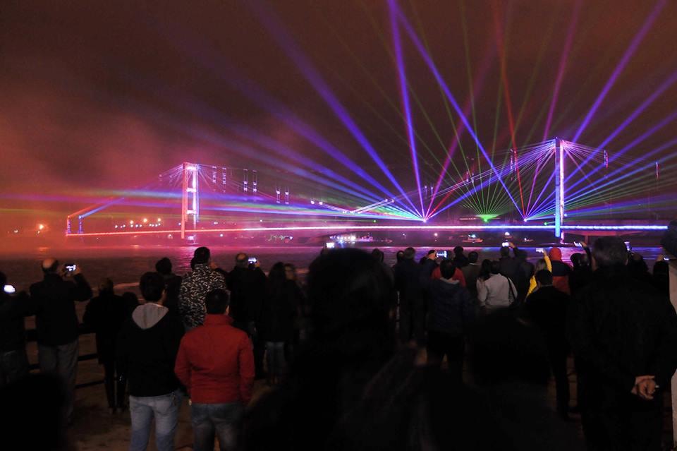Iluminación Puente Colgante - Sta Fe