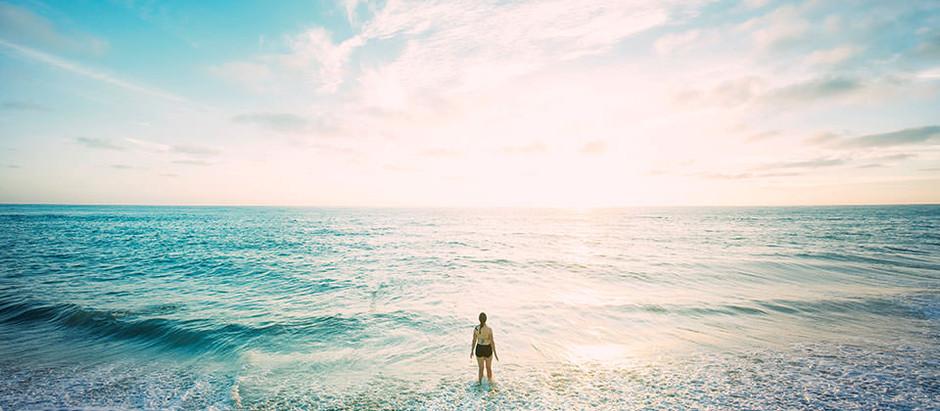 O oceano e eu